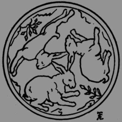 Trois lièvres