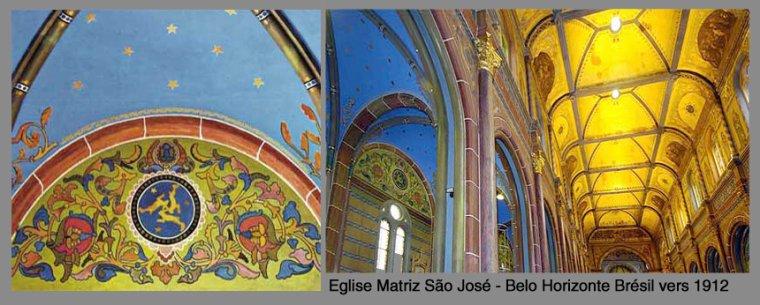 Trois lièvres Drei hasen Three hares Eglise Sao José Belo horinzonte -Brésil
