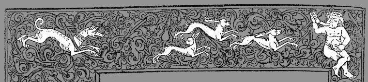 Trois lièvres Drei hasen Three haresPalerme - Sicile XIIe ?