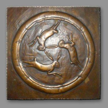 Trois lièvres Drei hasen Three haresVu sur eBay