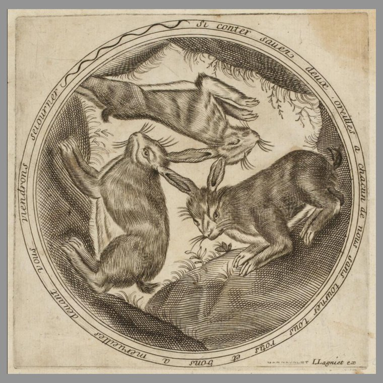 Gravure au burin, du caricaturiste et éditeur Jacques Lagniet (1620-1672) Paris