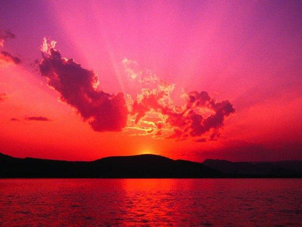 encore un coucher de soleil sans toi tu me manque