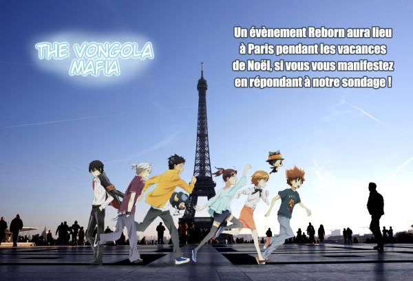 Reborn! fait un détour par Paris!