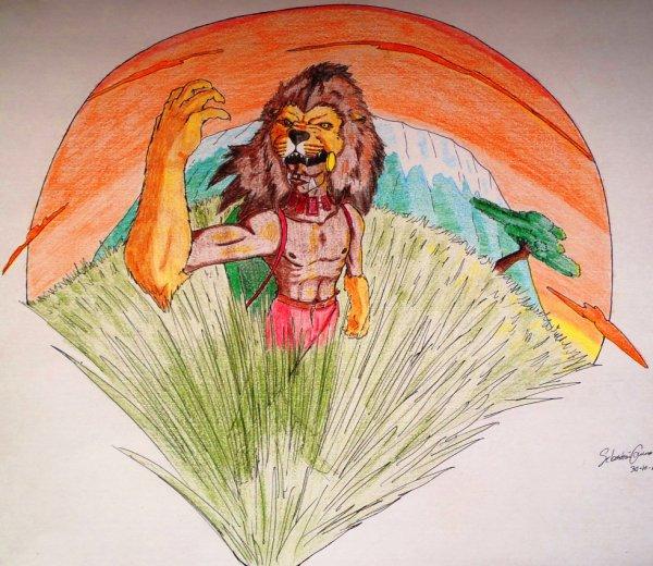 El León de Tanzania