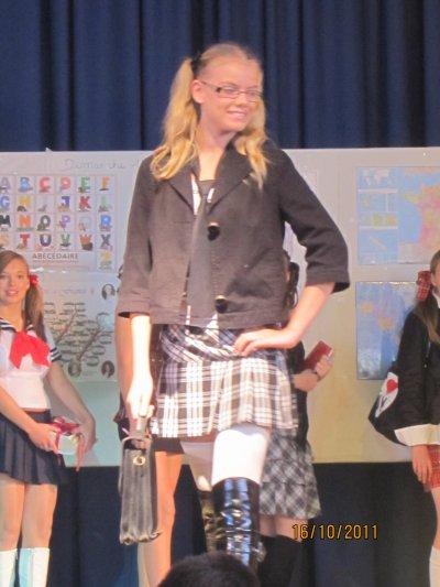 concours miss écolière à pecquencourt le16/10/2011
