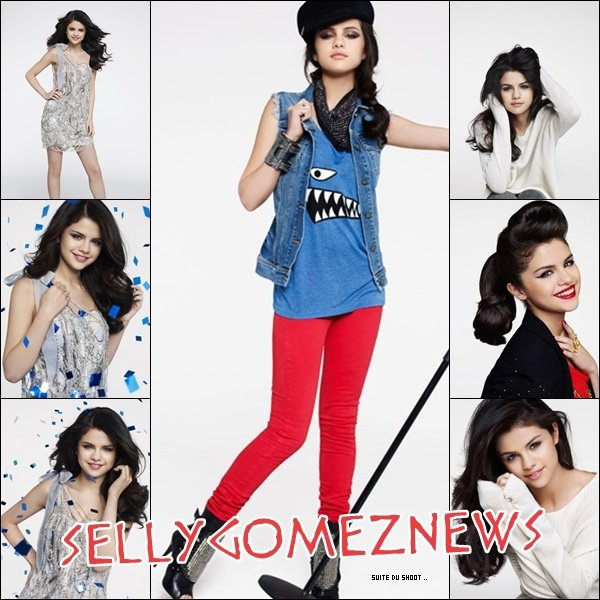 *Shoot-- ~ Nouvelle photo d'un ancien shoot de Selena. Tu aimes ? *
