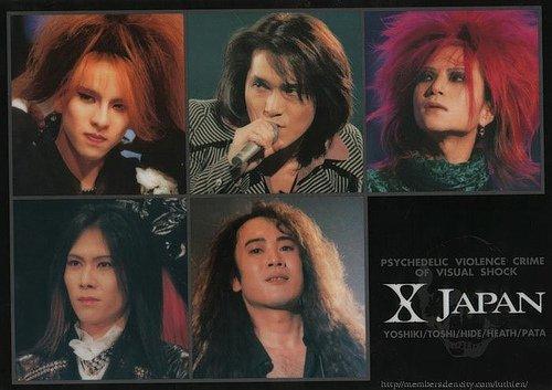 Présentation X Japan..
