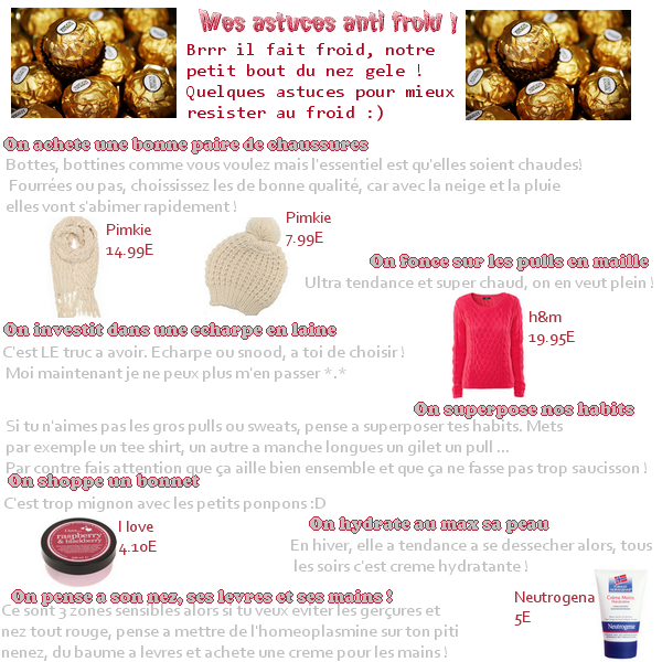 Astuces anti-froid