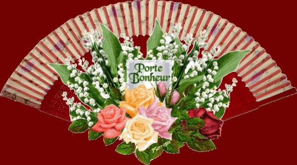A tous mes amis et amies je vous souhaite un bon 1 er mai kiss
