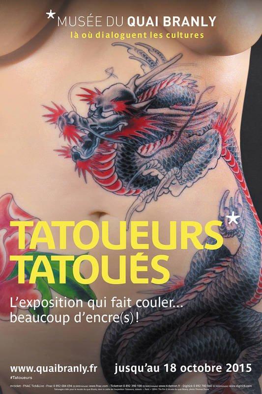 Musée du quai Branly : tatoueurs tatoués