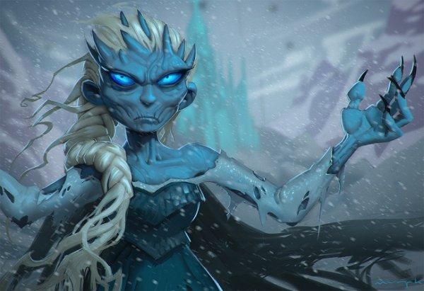Euh on dirait la reine des neige... mdr