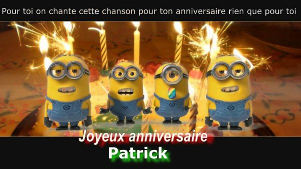 Pour Patrick (Pat-27)