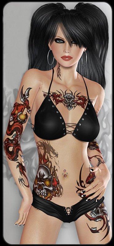 maquillage tatoos et autres