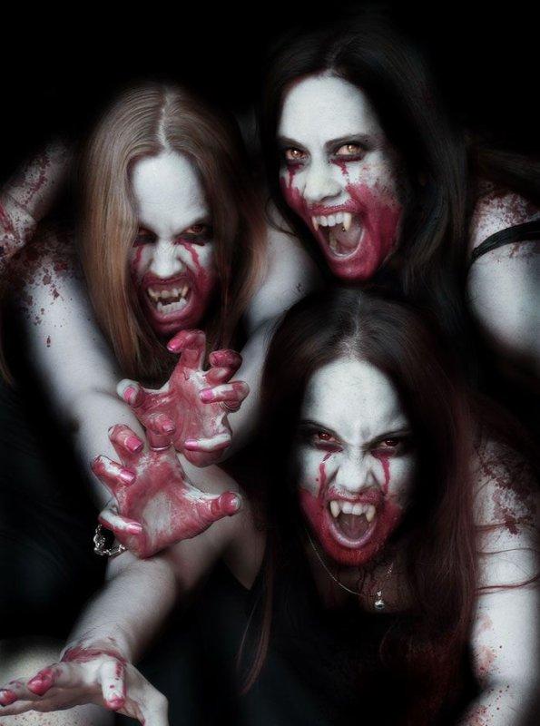 ce soir, les vampirettes sont de sortie.......