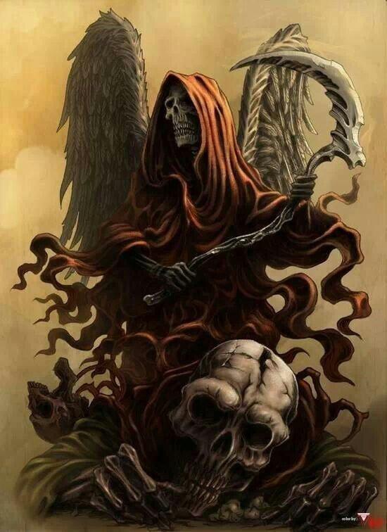 Dans le monde des skulls !  et de l'enfer.....