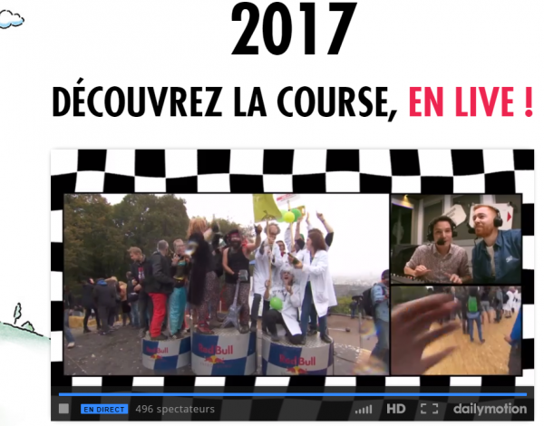 caisse à savon podium suivi ensuite en live sur le net (rêve  de gosses n3, drum team n2, la batterie n1)