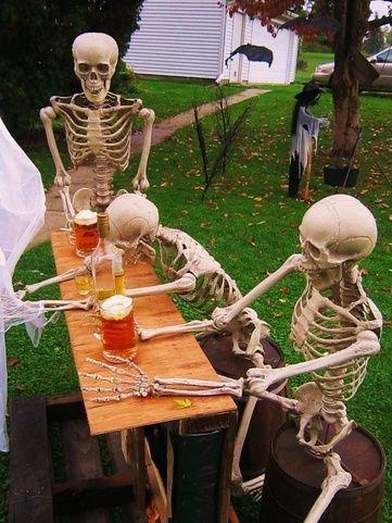 Skeletton humour