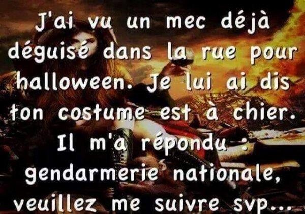 HUMOUR : DANS LA RUE (halloween)