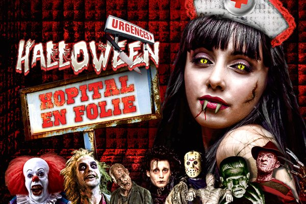 Cette nuit : hOPITAL EN FOLIE (halloween)