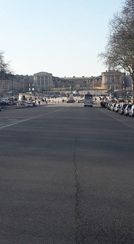"""Si Versailles m'était conté.... Balade samedi 17 02 2018 """"Le château"""""""