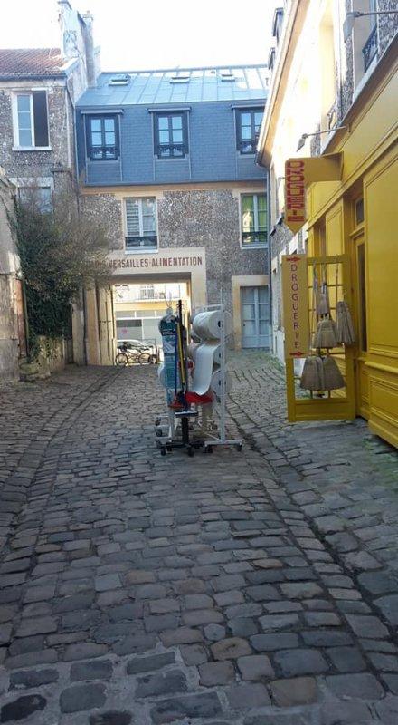 Une des ruelles de Versailles côté la Vannerie : balade 17 02 2018