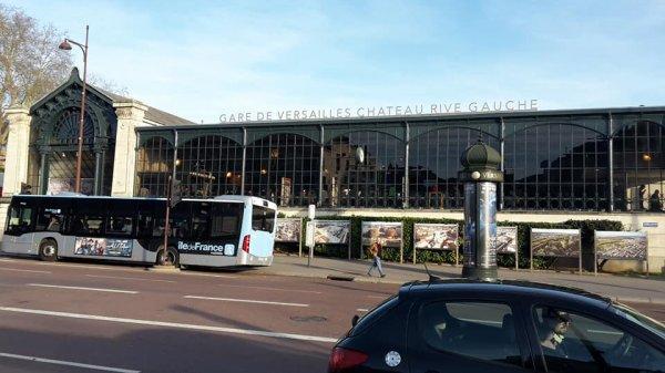 Versailles samedi 16 février 2019 aujourd'hui évidemment lol