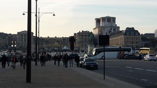 Versailles vieux quartiers et le chateau