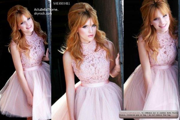 Découvrez les photo su shoot de Bella pour Sherril Hill