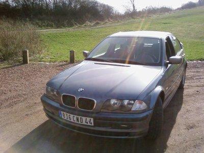 Nouvelle voiture une 318i e46