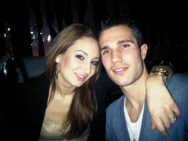 Robin & Bouchra van persie