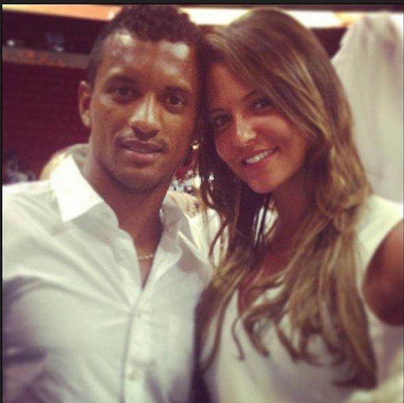 Daniela Martins et Luis Nani