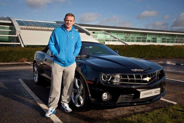 Wayne Rooney et sa voiture