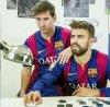 Leo Messi & Gerard Piqué