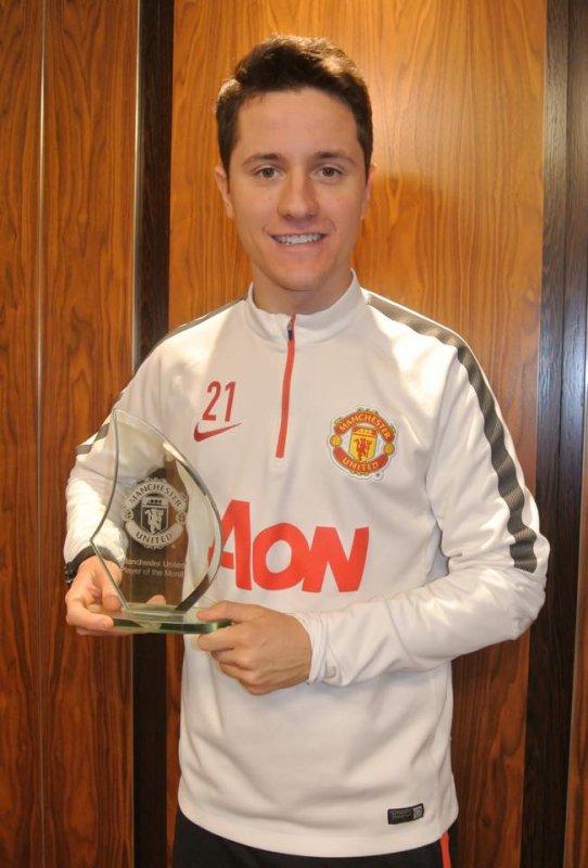 Ander Herrera élu joueur du Mois de février 2015