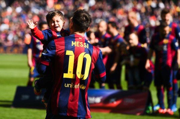 leo Messi & Thiago au camp nou