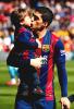 Luis Suarez & ses enfants au Camp Nou