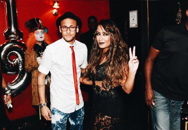 Neymar Jr & sa soeur