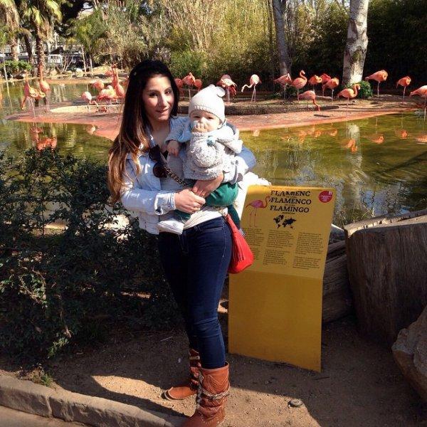 Maite Dominguez & son fils Dylan