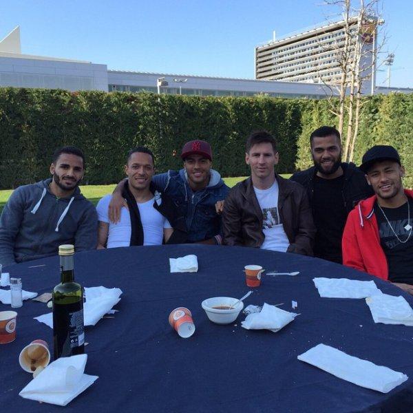 Neymar & ses coequipier