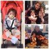 Eduarda & Tales Da Silva avec leur oncle