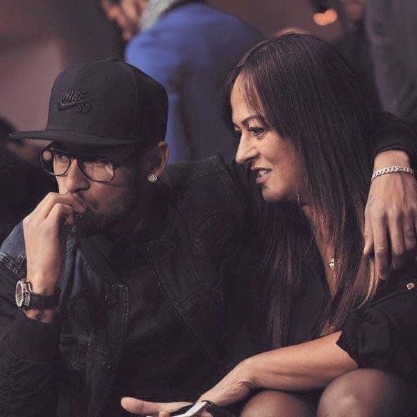 Neymar Jr & sa mère