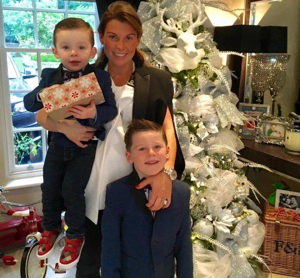Coleen Rooney & ses fils
