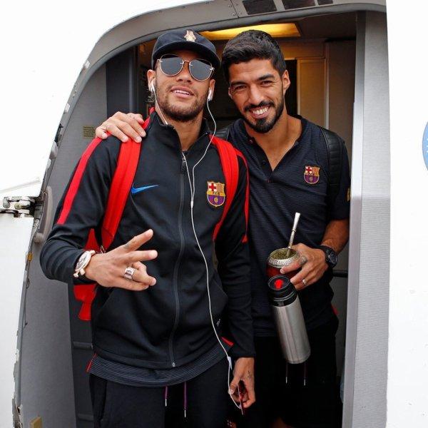Neymar Jr & Luis Suarez