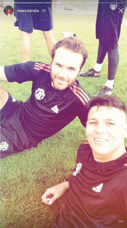 Juan Mata & Marcos Rojo
