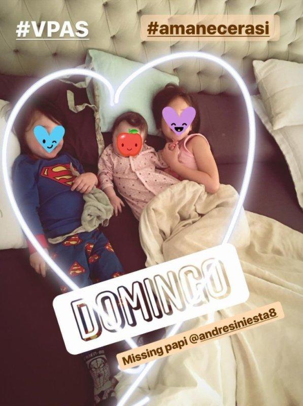 Valeria, Paolo & Sienna Iniesta
