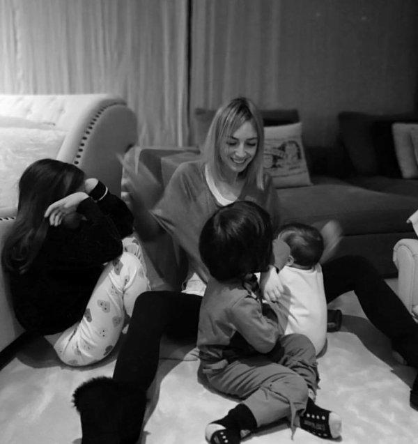 Anna Iniesta & ses enfants