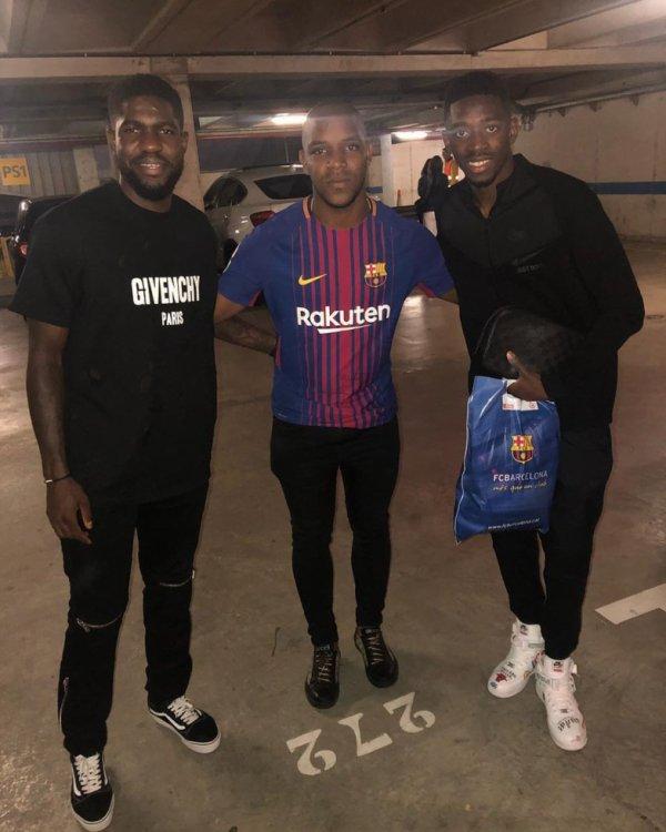 Samuel Umtiti & Ousmane Dembele