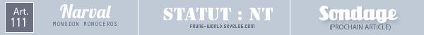 _______» ARTICLE N°111 :LE NARVAL_______ » Posté le 30 Juin 2012 » Faune-world.skyblog.com