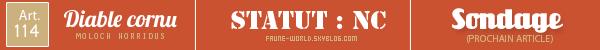 _______» ARTICLE N°114 :LE DIABLE CORNU_______ » Posté le 14 Juillet 2012 » Faune-world.skyblog.com