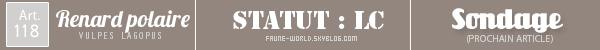 _______» ARTICLE N°118 :LE RENARD POLAIRE_______ » Posté le 16 Septembre 2012 » Faune-world.skyblog.com